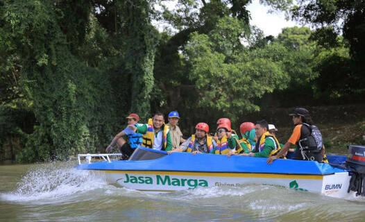 Susur Sungai Cisadane Di Kota Tangerang, Aman untuk si Kecil