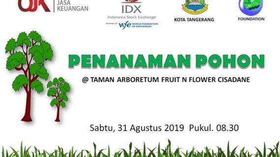 Penanaman Pohon Di Taman Arboretum Fruit n Flower Cisadane