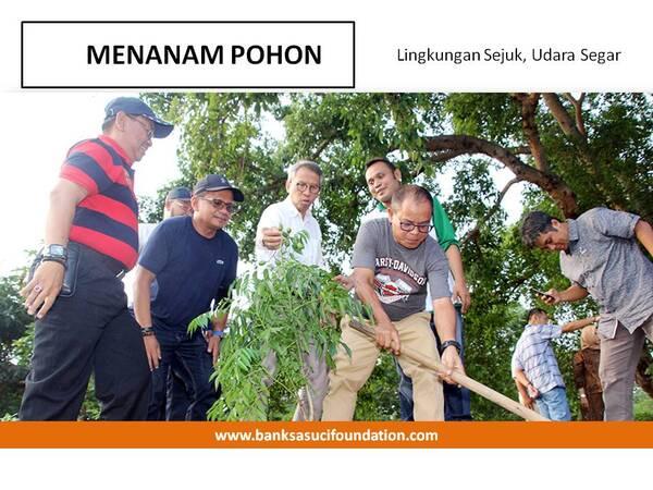 hijaukan lingkungan dan buat sejuk dengan penanaman pohon by Banksasuci